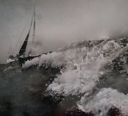 Sailing II, 111 x 76 cm, Archival pigment print, 2010