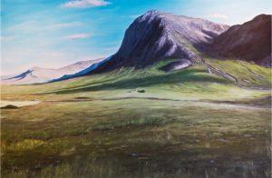 Glen Coe Highlands / Scotland, 80 x 120 cm, Oil on canvas, 2015